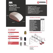 Автоматика гаражни врати NAOS 1