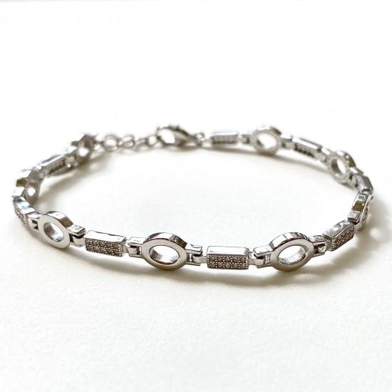 Дамска сребърна гривна  SB3107