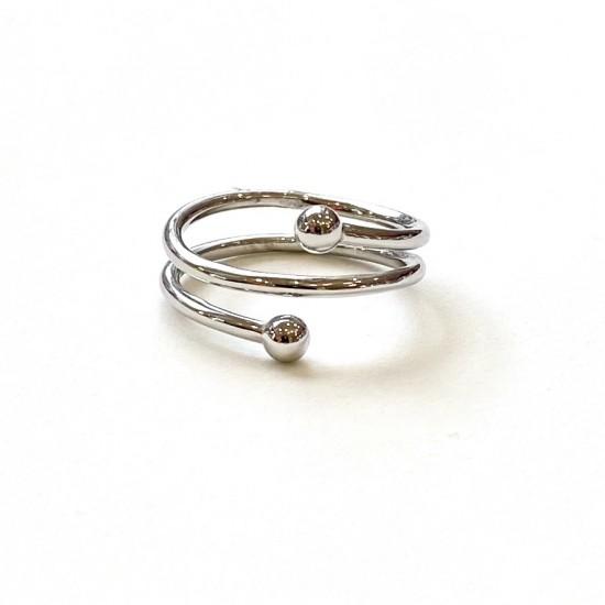Дамски сребърен пръстен   SR10005