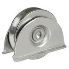 Колело за плъзгаща врата с планки ф80мм - 388/80