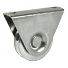Колело за плъзгаща врата с фиксатор ф100мм - 386/100