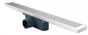 Линеен сифон 60 см, корпус от НС, решетка на квадратчета Арт.№: PD-60D