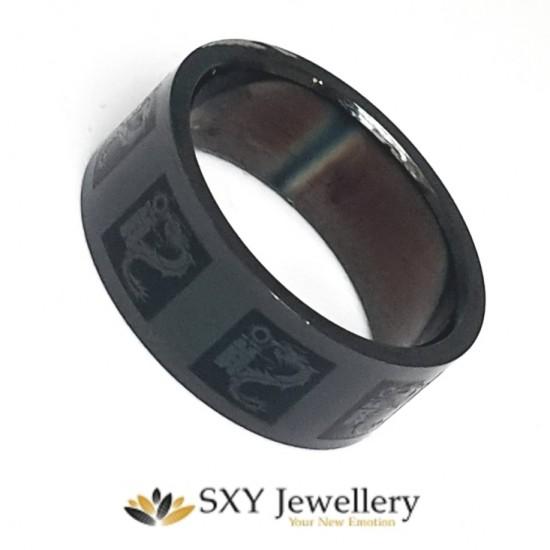 Мъжки пръстен от медицинска стомана  SR16610
