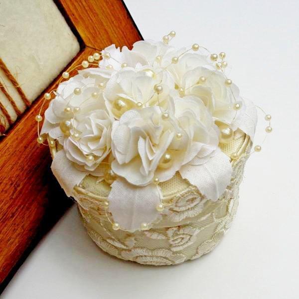 Сватбена кутийка за брачни пръстени - Аксесоари за сватба