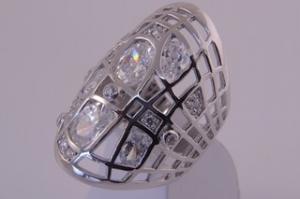 Сребърен пръстен от с камък Цирконий
