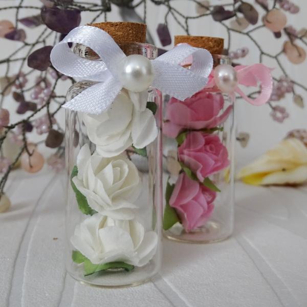 Шишенца с розички - Подаръчета за гости